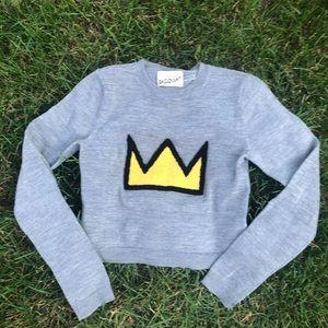 alice+olivia x basquiat sweater